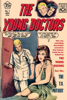 A SoCal Secrets Creation.  A recaption of The Young Doctors (Charlton, 1963) #03 from the copy at the Grand Comics Database. http://www.comics.org  Created expecially for tgcomics.com