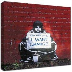 Banksy -- Change