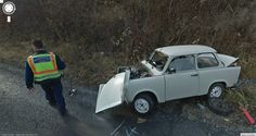 Google Street View World captures funny and interesting pictures discovered via Google Street View