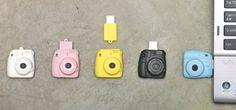 Amazon.com : Superheadz Instant Camera Shaped Mini Cheri USB 8 GB Flash Drive Pink : Instax : Camera & Photo
