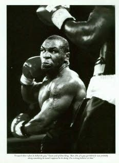 Mike Tyson is a bad man.