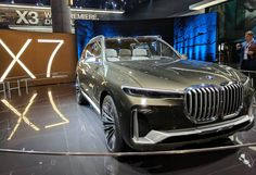 2017 BMW Concept X7 iPerformance review The X7 will ride on BMW's CLAR platform, which is currently used in the7 Seriessedan. Powertrain specifications haven't been detailed, but BMW says the X7 will offer electric propulsion, whichBMWcalls eDrive, paired with a TwinPower Turbo engine. Obviously, this is where the iPerformance...
