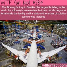 The largest building in the world -WTF fun facts