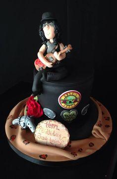 Guns N Roses Cake Ideas