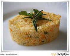 Přílohový kuskus s kořenovou zeleninou Czech Recipes, Ethnic Recipes, Baked Potato, Couscous, Risotto, Mashed Potatoes, Grains, Rice, Baking