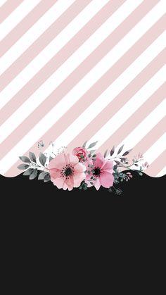 Papel de parede para celular para você baixar gratuitamente e usar em seu smartphone Flower Background Wallpaper, Cute Wallpaper Backgrounds, Flower Backgrounds, Pink Wallpaper, Screen Wallpaper, Pattern Wallpaper, Cute Wallpapers, Iphone Wallpaper, Wallpaper Wallpapers