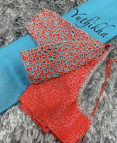 Cutwork Blouse Designs, Simple Blouse Designs, Stylish Blouse Design, Bridal Blouse Designs, Blouse Neck Designs, Mirror Work Blouse Design, Cutwork Embroidery, Embroidery Designs, Designer Blouse Patterns