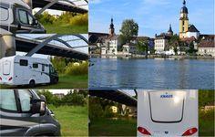 Schöner Wohnmobilstellplatz direkt am Main in Kitzingen  ... #twowomo #kitzingen #stellplatz