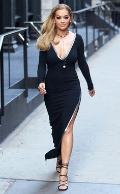 The actress is glammed up and gorgeous in New York City.