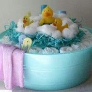duck diaper cake  #babyshowerideas #babyshower #babyshowerideas4u