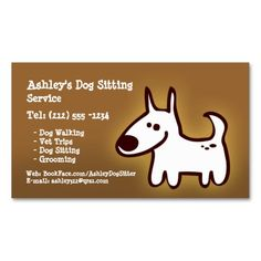 Dog walking service business card animal pet care business cards customizable dog sitting grooming walking business card templates colourmoves