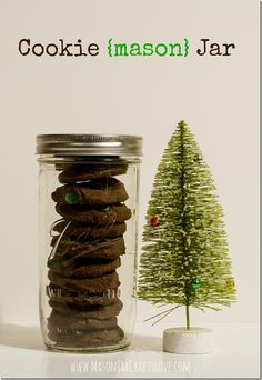 Cookie Jar Mason Jar | Mason Jar Crafts Love