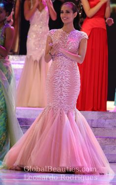 Philippines and Brazil lead GB's list of favorites with nearly perfect scores Miss World 2013, Megan Young, Miss Philippines, Formal Gowns, Pageant, Evening Gowns, How To Wear, Fashion, Dresses For Formal