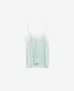 Image 8 of SILK CAMISOLE TOP from Zara