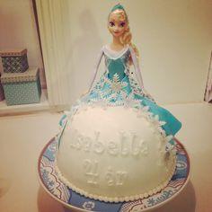 Eeeeelsker at bage: Disney Frost Kage med Prinsesse Elsa