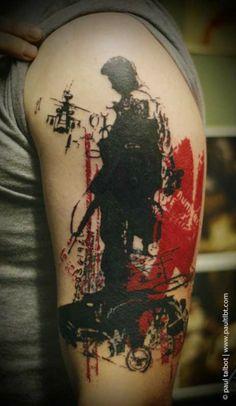 Paul Talbot ink