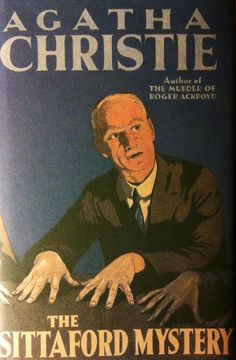 The Sittaford Mystery By Agatha Christie First edition dust wrapper
