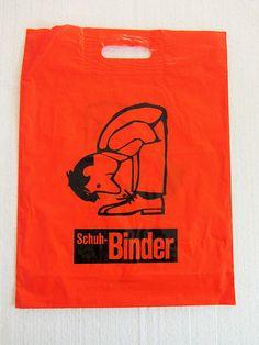Vintage plastic bag Binder Schuhe | von JO JE BIN