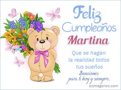 Feliz Cumpleaños Martina Happy Birthday Tia, Happy Birthday Flowers Wishes, Happy Birthday Photos, Happy Birthday Celebration, It's Your Birthday, 24th Birthday, Birthday Cake Write Name, Birthday Cake Writing, Birthday Greeting Cards