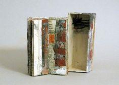 September by Linda Welch - Unique Artist Book Collage Book, Book Art, Altered Books, Altered Art, Concertina Book, Art Journal Pages, Art Journaling, Journal Ideas, Book Sculpture