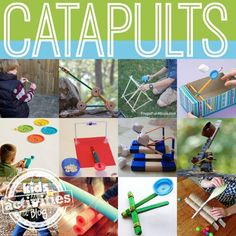 catapults to make with kids