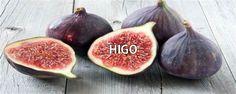 Higo - http://medicinadedios.info/higo/ - Higo   Nombre científico:Ficus carica  Nombres populares: Higo  Descripción:Los higos miden 6 ó 7cm de largo y 4,5a 5,5cm de diámetro. Son muy estacionales y se pueden encontrar fácilmente en los meses de agosto y septiembre en el hemisferio norte, o febrero y marzo en el hemisferio sur.  Floración:En esta especie la organización floral es bastante compleja. En un principio se pensó