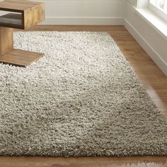 Crate & Barrel Hollis Tweed Wool Rug -- Could be for any of the bedrooms or living room -- largest size is 9X12