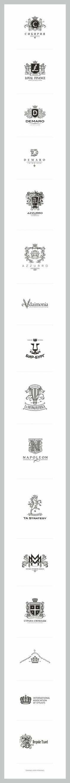 Logotipos vintage #logo #heráldico #brandgourmet