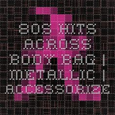 80s Hits Across Body Bag | Metallic | Accessorize