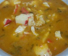 Receita Bimby<sup>®</sup> na categoria Sopas do %site-name%, A Comunidade de Receitas Bimby<sup>®</sup>. Portuguese Recipes, Cheeseburger Chowder, Curry, Fish, Thumbnail Image, Cooking, Ethnic Recipes, Caldo, Healthy Appetizers