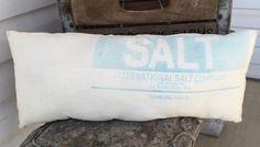 Primitive Accent Pillow Salt Bag Country Farm Decor #Country #Handmade