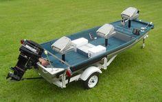 Simple customized jon boat.