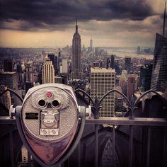 'Top of the Rock' Rockefeller Centre, NYC