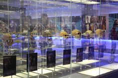 The Sterkfontein Caves fossil exhibition. Cradle of Humankind World Heritage Site, Gauteng, South Africa