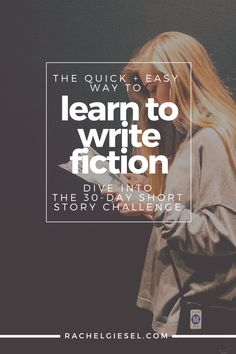 If you want to learn to write fiction, there are a LOT of things you need to know about. But trying to learn them all while writing a novel can be time-consuming and frustrating. Learn to write fiction the quick and easy way by focusing on the short story. The short form is the standard vehicle for teaching fiction in schools around the world, but it's time to learn the short story form on your time from the comfort of your own home. In the 30-day short story challenge, we'll read stories…