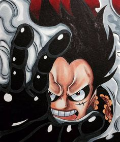 Luffy, One Piece, Gear Fourth