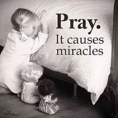 It's time to cause a miracle with the Power of Prayer, share a prayer with someone NOW! Please share this message with all your friends and family, God Bless! www.ChristiansConnectingChristians.com