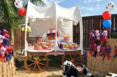 "Photo 2 of 7: Western/Cowboy / Birthday ""Brayden's 1st Birthday"" | Catch My Party"