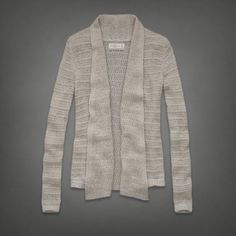 Shawl Sweater | Abercrombie.com | Check out our Pin To Win Challenge at http://on.fb.me/UfLuQd
