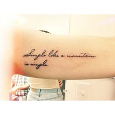 tattoo idea, mountain, font styles, tattoo fonts, quote tattoos, extrem loud, tattoo inspir, tattoo quot, incredible tattoos