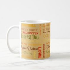 Autumn Phrases Mug - family gifts love personalize gift ideas diy