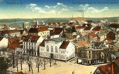Muzeum Miejskie w Nowej Soli - Dział historyczny / Plac Floriana - kartka pocztowa, lata 20. XX w.