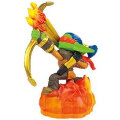 Skylanders Giants - Flameslinger [Fire] Character, Series 2