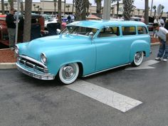 1951 Plymouth station wagon.