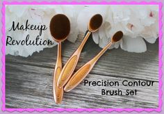 Makeup Revolution has new oval brushes that are to-die-for and are bargain priced!