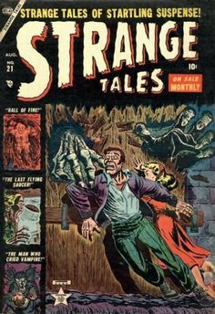 gcd cover strange tales 21 - 28 images - gcd cover strange tales gcd cover strange tales gcd cover strange tales gcd issue marvel masterworks nick fury of s, gcd issue mystery tales 2 Scary Comics, Horror Comics, Horror Art, Vintage Book Covers, Comic Book Covers, Lorde, Marvel Comic Books, Marvel Comics, The Man Who Cried