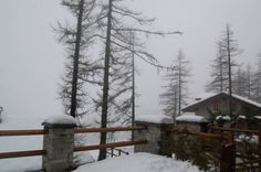 Sequence of photos of April snowfall at Cere. Credits: Paolo B. Still sequences of rain and snow, but without fresh accumulation. Remain still of 10 cm, very wet. (Ceresole Reale, NW Alps, Italy)