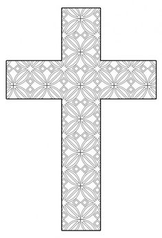 Free Printable Celtic Cross Coloring Pages coloring