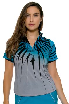 Golf Clothes l Jamie Sadock Curasao Golf Shirt : 62141