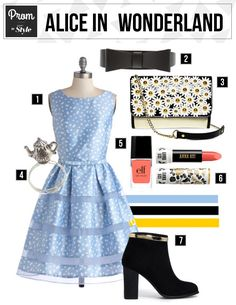 Prom Inspiration: Alice in Wonderland | Lifestyle | Fashion | Disney Style